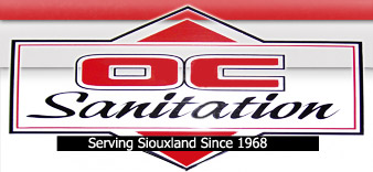 OC Sanitation of Orange City, Iowa - Serving Siouxland since 1968